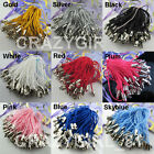100Pc Charm Mobile Phone Dangle Strap String Thread Cord 52mm 15Color-1 Or Mixed