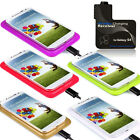 1PC Qi Wireless Unique Charging Pad+Receiver Kit For Samsung Galaxy S4 i9500