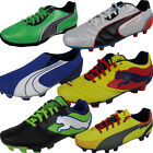 Boys Puma FG Firm Ground Football Boots Junior Sizes Kids Soccer Boot Size 10-6