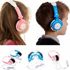Childrens Blue Pink DJ Travel Kids Folding Headphones for Vtech InnoTab 3S Plus