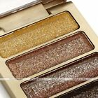 5 Colors Womens Makeup Glitter Eyeshadow Charm Shiny Cosmetic + Brush Gift EE