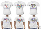 Autism Awareness T Shirts Male & Female Any T-SHIRT Design Possible