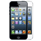 """Apple iPhone 5 16GB """"Factory Unlocked"""" Black and White Smartphone"""