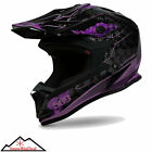509 Altitude Snowmobile Helmet Frost Purple Snowmobiling Evolution 2015 with DVD