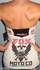 New Sexy FOX RACING RIDERS Black White CHECKERED Tube Top CHOOSE S M L XL