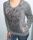 New FOX RACING RIDERS Gray Pullover FRONT POCKET Sweatshirt CHOOSE S M L XL