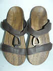 Super Deal ! ORTHAHEEL Shoes Women's Layla Slide Sandal Brown Sz US  5-10