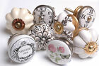 Vintage Style Antique Finished Ceramic Cupboard Knobs Kitchen Door Knobs Drawers
