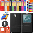 Flip S-View Screen Case Battery Cover For SAMSUNG Galaxy Note 3 III N9000 N9005