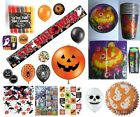 Halloween Party Items (Balloons/Stickers/Tableware) HW