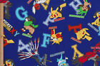 Pocket Monster Pokemon Characters   Japanese Anime Cartoon Fabric 110cm x 50cm