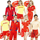 Baywatch Lifeguard Adult Fancy Dress Beach 80s TV Character Mens Ladies Costume