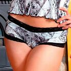 NAKED NORTH SNOW CAMO LINGERIE - CAMOUFLAGE BOYSHORTS PANTIES