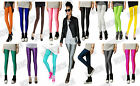 New Shiny Neon High Waist Punk Celebrity 80s Disco Workout Bodycon Yoga Leggings
