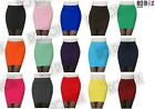 New High Waist Stretch Bandage Panel Bodycon Mini Skirt Tube Top One Size (6-12)