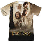 Lord Of The Rings Two Towers Poster Sublimation Poly Adult Shirt S-3XL