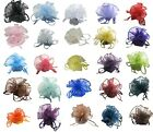 50pc 100pcs 26cm Organza Wedding Favours All Occasions Circular Bag Pouch 10.5""