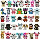 TY 6 inch Beanie Boos - TY Boo Plush Teddy - Soft Toy - Choose your item