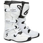 New 2013 Alpinestars Tech 3 Motocross Atv Boots Super White