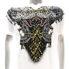 a3w M XL Artful T-shirt Tattoo Skull Snake Cobra Indie White Tee Men Lover Biker
