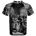 Knights Templar Freemason Sublimated Sublimation T-Shirt S,M,L,XL,2XL,3XL