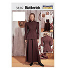 SEWING PATTERN Butterick 3836 Misses Antique Western OLD WEST RIDING COSTUMES