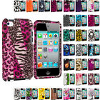 For iPod Touch 4th Generation 4G 4 Hard Design Skin Case Cover Accessory