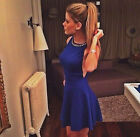 2014 Fashion Women Sexy Sleeveless Halter Dress Ladies Mini Skirt Party Cluwear