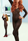 Sexy Lingerie Babydoll Black Flesh-colored Open Crotch Bodysuit BODYSTOCKING