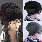New Unisex Women Men Oversized Cable Knit Crochet Baggy Beanie Slouch Hat Cap