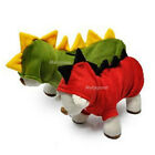 New Dog Dinosaur Coat Clothes Winter Jacket Halloween Costume Hooide Apparel