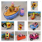 PEPPA PIG SELECTION OF CARS -  TRUCKS -  BOATS - HELICOPTERS - ROCKET