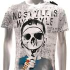 m319 Minute Mirth T-shirt Tattoo Skull NIB w/ Box Biker Skateboard Extreme Ghost