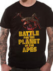 Official Battle For The Planet Of The Apes (Battle) T-shirt - All sizes