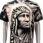 r172 M L XL XXL XXXL Rock Eagle T-shirt Tattoo SPECIAL Skull Indian Tribe Biker