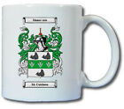 MC CUTCHEON COAT OF ARMS COFFEE MUG