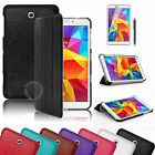 Slim Folding Smart Stand Leather Case Cover for Samsung Galaxy Tab 4 8.0 SM-T330
