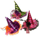Mini Witches Fascinator Witch Hat & Clip Halloween Accessory Fancy Dress
