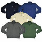 Polo Ralph Lauren Sweater Mens Mock Neck Half Zip Pullover Pony Logo New