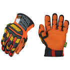 Mechanix Wear ORHD Cut Resistant Impact Protection High Visibility Work Gloves