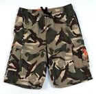U.S. Polo Assn. Green Camouflage Brief Lined Boardshorts Swim Trunks Mens NWT