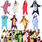 Hot Sale Unisex Adult Pajamas Kigurumi Cosplay Costume Animal Onesie Sleepwear--