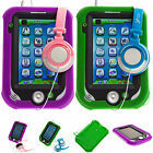 Coque Gel Antichocs Silicone + Ecouteurs Pour Leapfrog LeapPad Ultra XDi