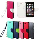 Leather Delux Flip Wallet Pouch Hard Cover Case For Apple iPhone 6 Plus