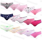 5 Pairs Girls Cotton Briefs Pants Knickers Childrens Patten Design Underwear