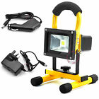 10W 20W Hi Power Portable LED Work Light Rechargeable Floodlight Waterproof IP65