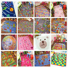 KIDS RUGS CHILDRENS GIRLS BOYS NON SLIP MAT WORLD MAP PINK ROADS FARM ALPHABET