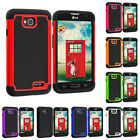 For LG Optimus Exceed 2 Hybrid Rugged Hard Shockproof Case Cover