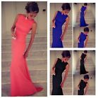 Elegent Women Sleeveless Prom Ball Cocktail Party Dress Formal Evening Gown #LA