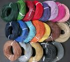 3M/5M Real Leather Nice Necklace Charms Rope String Cord 1mm 1.5mm 2mm 2.5mm 3mm